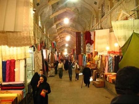 جاهای دیدنی شیراز,مکان های دیدنی شیراز,بازار وکیل شیراز