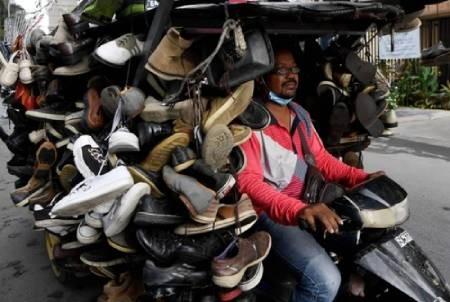 عکسهای جالب,عکسهای جذاب, فروشنده کفش