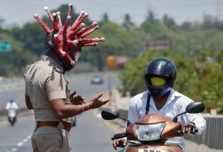 عکسهای جالب,عکسهای جذاب,پلیس هند