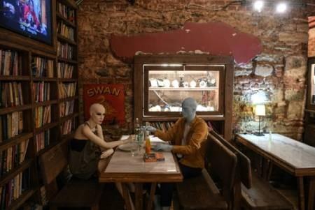 عکسهای جالب,عکسهای جذاب,کافه در استانبول