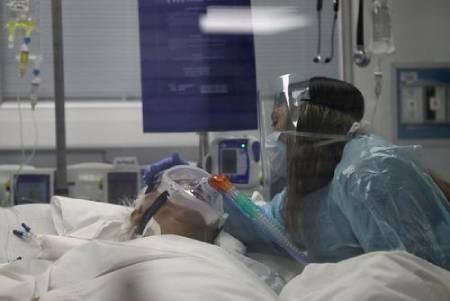 عکسهای جالب,عکسهای جذاب,بیمار کرونایی