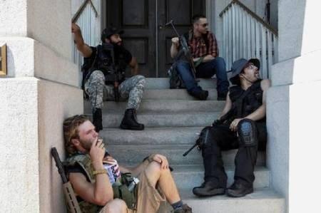 عکسهای جالب,عکسهای جذاب,حامیان حمل سلاح