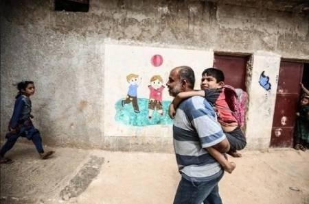 عکسهای جالب,عکسهای جذاب, پدر سوری