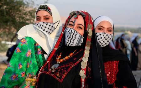 عکسهای جالب,عکسهای جذاب,زنان فلسطینی