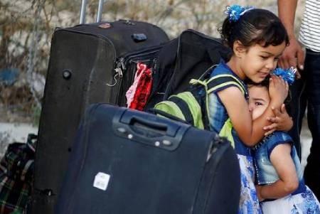 عکسهای جالب,عکسهای جذاب, مرز غزه و مصر