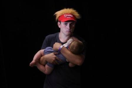 عکسهای جالب,عکسهای جذاب,طرفداران ترامپ