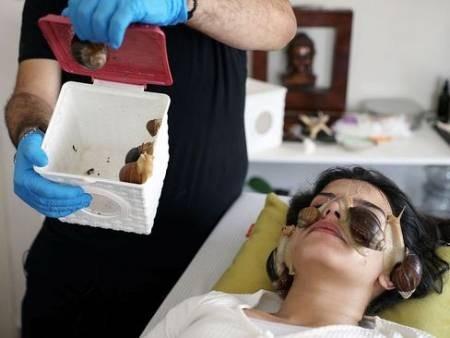عکسهای جالب,عکسهای جذاب, حلزون درمانی