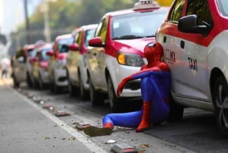 عکسهای جالب,عکسهای جذاب,اعتصاب رانندگان تاکسی