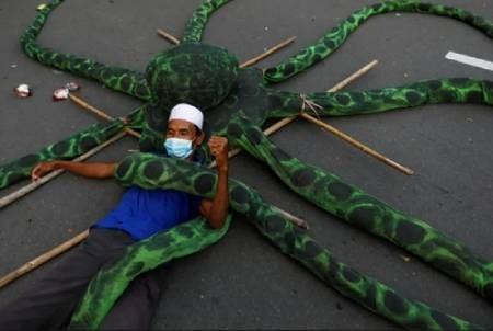 عکسهای جالب,عکسهای جذاب,عتراضات کارگران