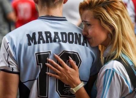 عکسهای جالب,عکسهای جذاب, طرفداران مارادونا