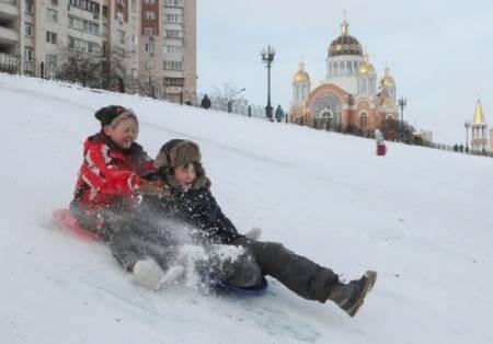عکسهای جالب,عکسهای جذاب,برف بازی