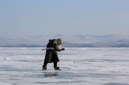 عکسهای جالب,عکسهای جذاب, اسکیت روی یخ