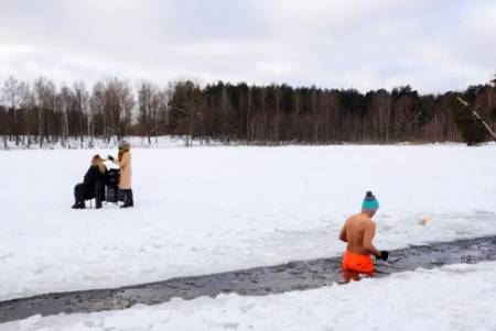 عکسهای جالب,عکسهای جذاب, دریاچه یخزده