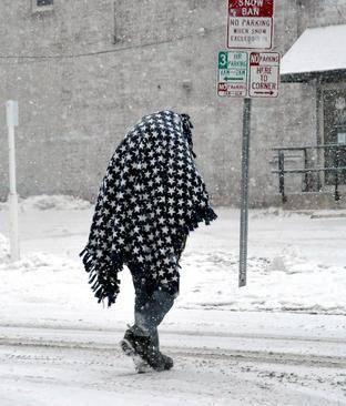 عکسهای جالب,عکسهای جذاب, توفان برفی