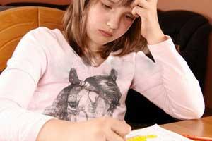 کاهش کارایی فرزنددر ریاضی