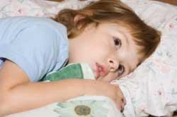 علائم بی خوابی,بی خوابی در کودکان