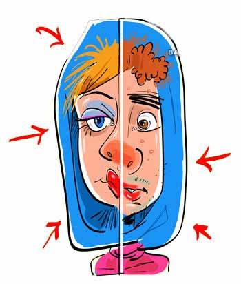 خودزشت پنداری زنانه,خودزشتپنداری