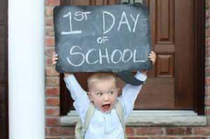 قبل از مدرسه , شروع مدارس,فصل شروع مدارس