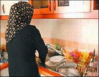زن استثنایی,زنان خانه دار, منتظر ورود همسر