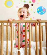 وابستگیهای نوزاد, جدا کردن محل خواب کودکان