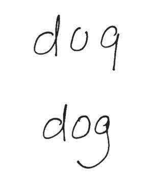 دست خط,دست نوشته ها ,دستخط انگلیسی