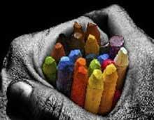 آدم ها، مداد رنگی روزگار