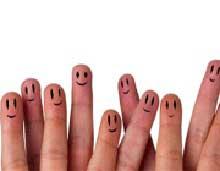 شاد بودن,آدمهای شاد, آدمهای شاد و خوشبخت