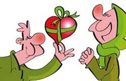 هدیه دادن,هدیه گرفتن, آداب هدیه دادن