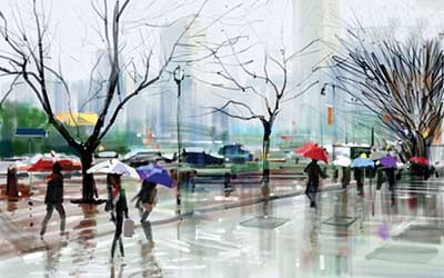 ra4 3775  رنگ بارانی تان شما را لو می دهد!