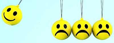 احساسات منفی,احساس خوب, احساس ناامیدی