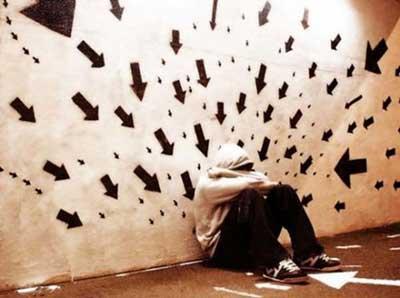علائم افسردگی ,افراد افسرده ,دلایل افسردگی