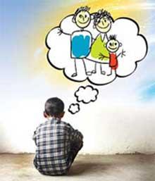 الگوي رفتاري ,خانواده هاي تك والدين,تربيت فرزندان