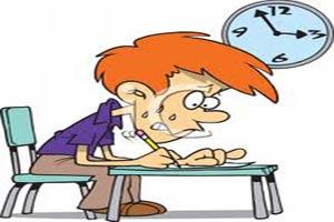با اضطراب و استرس شب امتحان چکار کنیم