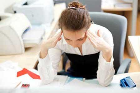 استرس های بی دلیل روزانه