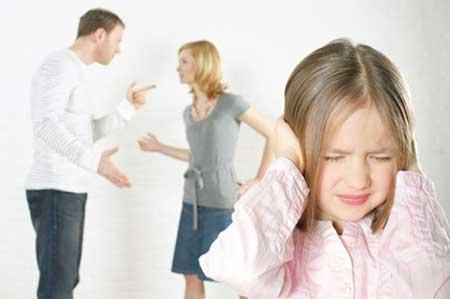 تاثیر مشکلات خانوادگی بر آینده فرزندان