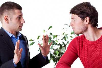 حرف زدن و دفاع از خود