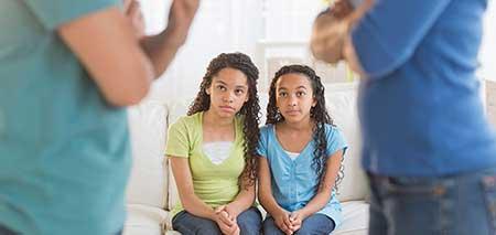 والدین الگوی فرزندان