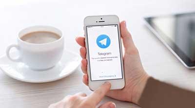 شروع تلگرام