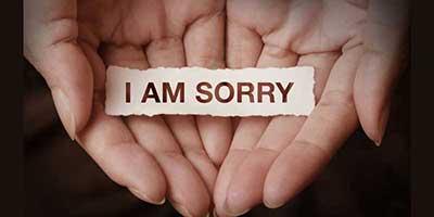 بهترین راه عذرخواهی