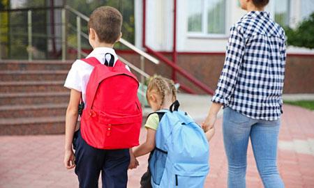 فرزندان و امتحانات|چطور بچه ها را سر وقت به مدرسه برسانیم