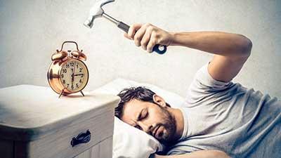 علت دیر بیدار شدن