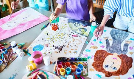 نقاشي هاي کودکان