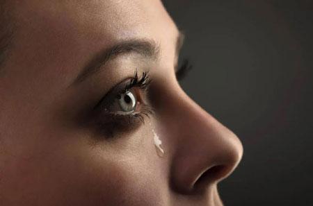 دلیل گریه کردن