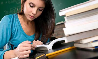 مطالعه براي امتحانات