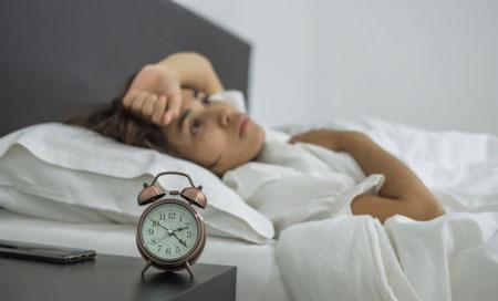 درمان بی خوابی شبانه تنها در ۶۰ ثانیه