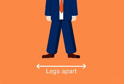شخصیتشناسی از روی مدل قرار گرفتن پاها