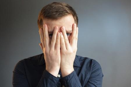 تست روانشناسی کمرویی, کم رویی, شکل ظاهری کم رویی