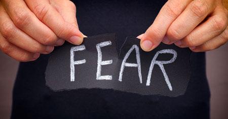 ترس, غلبه بر ترس, درمان ترس