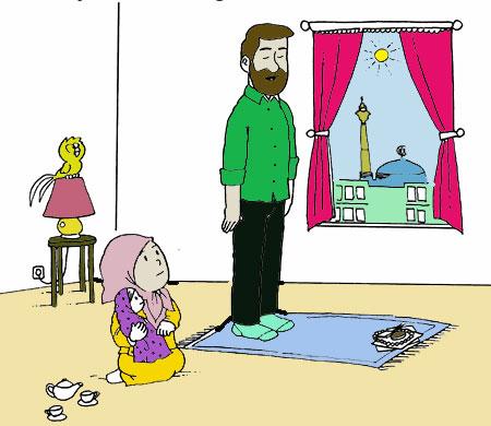انشا نماز,نوشتن انشای نماز,نمونه انشا نماز