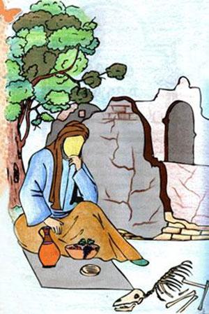 حضرت عزیر ع,ماجرای زندگی حضرت عزیر ع,عزیر یکی از پیامبران بنی اسرائیل